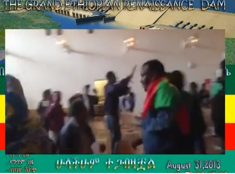 Ethiopians in Sweden Revolt Against Deadly Blue Nile Dam Fund raising by taking over the Hall