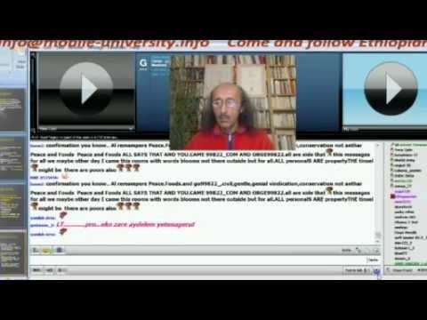 Ethio Kinijet Switzerland Pal-talk Eritrea  ቅንጅት ኢትዮጵያ ፓል – Prof. Muse Tegegne