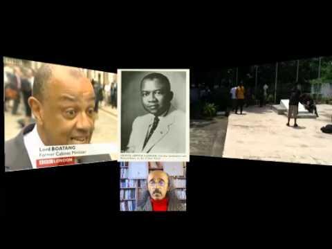 Panafricanism ፓንአፍሪካኒዝም Kwame Nkrumah,George Padmore, W.E. Du Bois