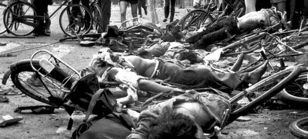 Tiananmen Square 25th anniversary of Students Massacre by Chinese Dictators