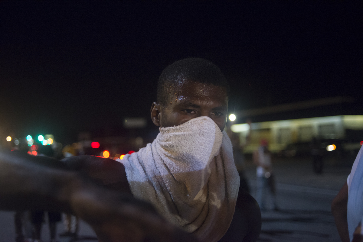 US racial divide showed its ugly face in Ferguson
