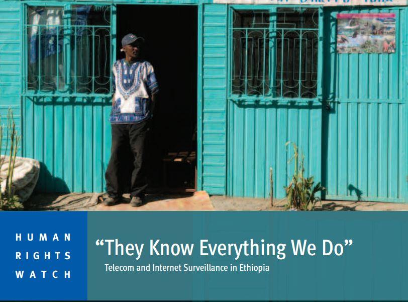 Tyranny's False Comfort, Ethiopia- Human Right Watch Report 2015