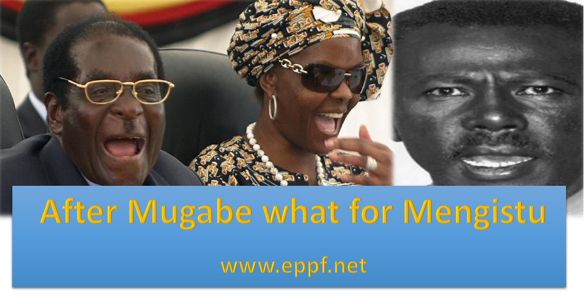 Mugabe forced to step down, what would be the fate of  Ethiopian Dictator Mengistu  living under his shadow?