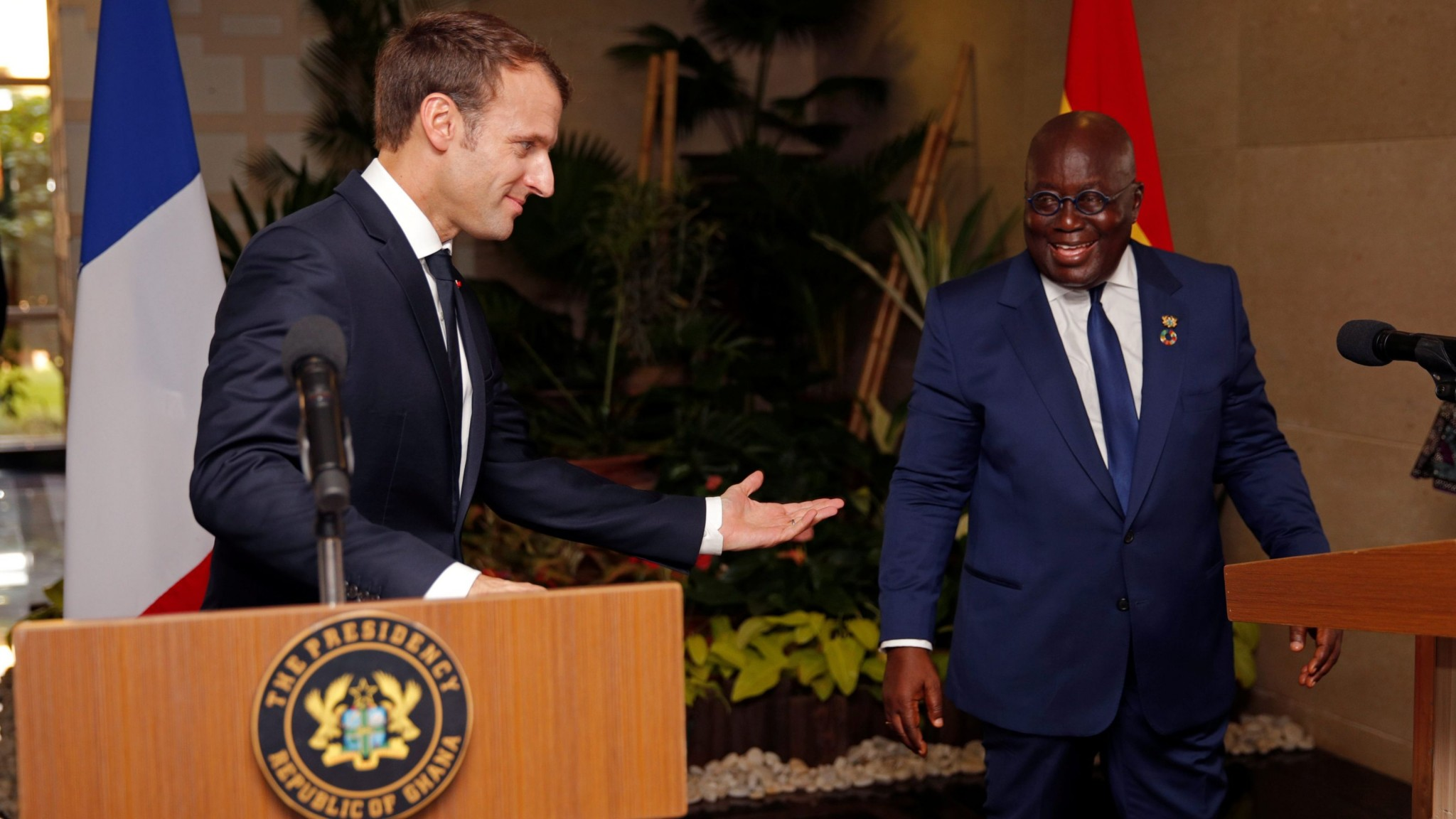 Ghana's president calling for Africa to end its dependency