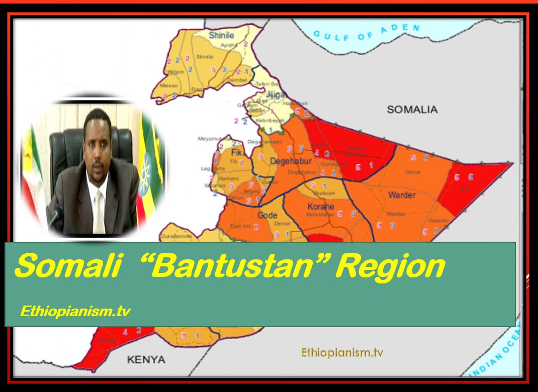 "Somali Bantustan Region of Ethiopia ""Ogaden"" in Open Revolt."