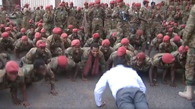 """Ethiopian PM Abiy  revised his version claims """"soldiers who marched on palace sought to 'kill me'?"""