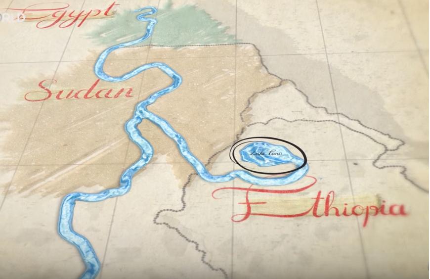 The Nile under treat by  Ethiopian Mega Dam?