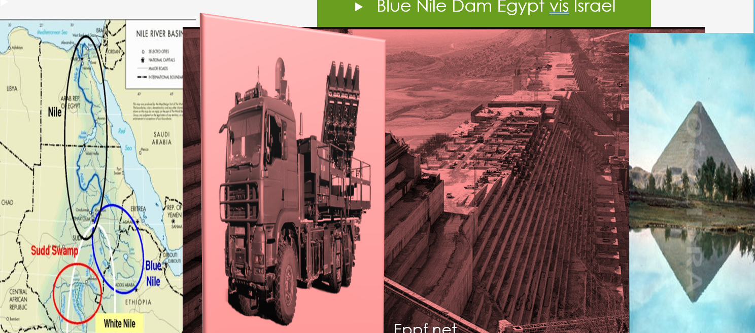 Egypt shows concern on Ethiopian Nile Dam to be secured by the Israeli defense system!!